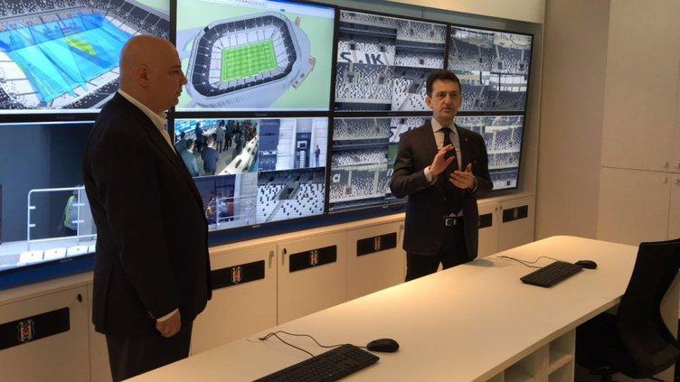 Vodafone Arena'da güvenlik üst düzeyde