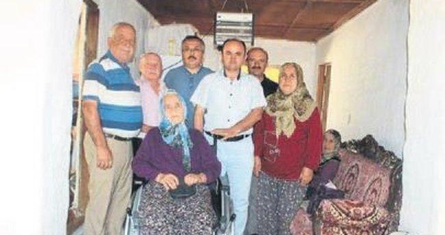 Korkuteli'de iki kişiye yardım eli