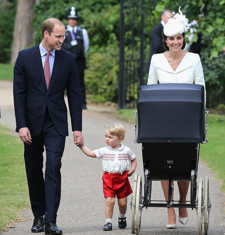Prenses Charlotte vaftiz edildi