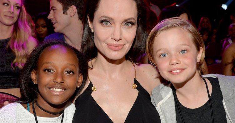 Brad Pitt ve Angelina Jolie'nin kızları Shiloh cinsiyet değiştiriyor!