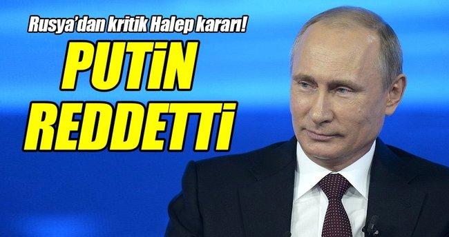 Rusya'dan kritik Halep kararı!