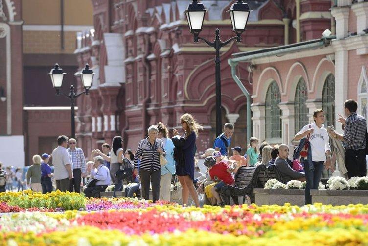 Moskova çiçek gibi
