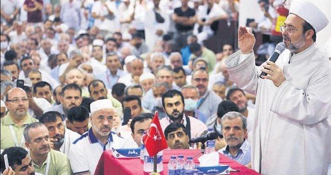 Mekke'de 15 Temmuz şehitleri için dua edildi