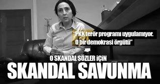 Figen Yüksekdağ'dan skandal PKK savunması