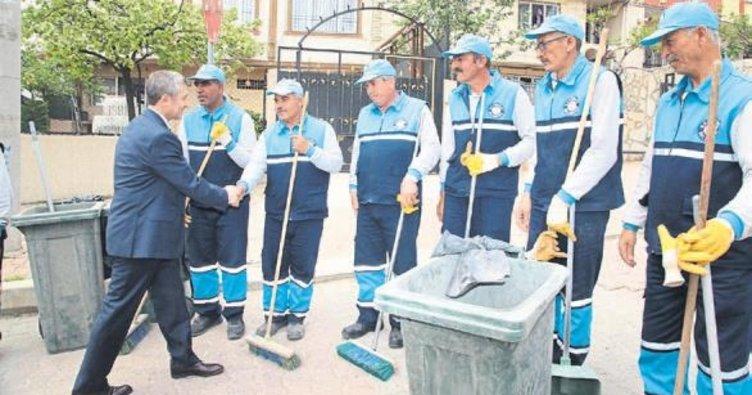 Şahinbey'de bahar temizliği başladı