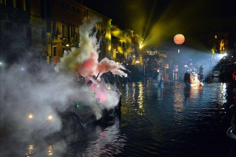 Venedik'te Karnaval zamanı