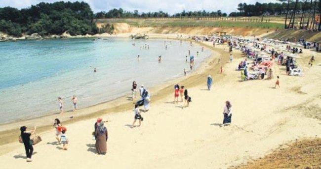 Kandıra'da artık kadınlara özel plaj var