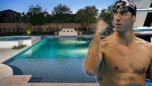Michael Phelps'in muhteşem evi görenleri büyülüyor
