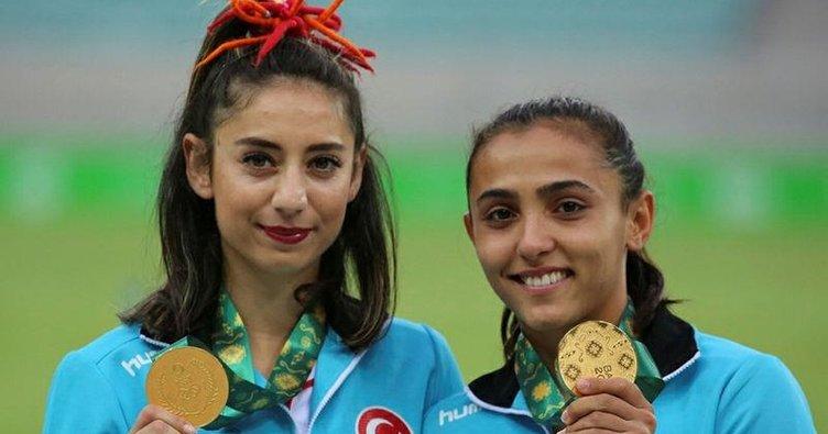 Bir yarışma iki altın madalya!
