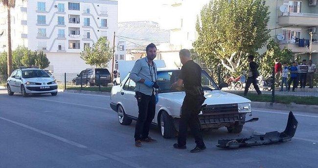 Mersin'de seyir halindeki araç tarandı: 5 yaralı