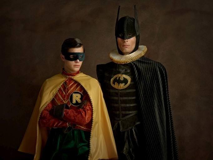 Süper kahramanlar Rönesans döneminde buluşursa…