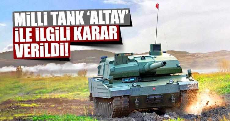 Milli tank ALTAY için çözüm bulundu!