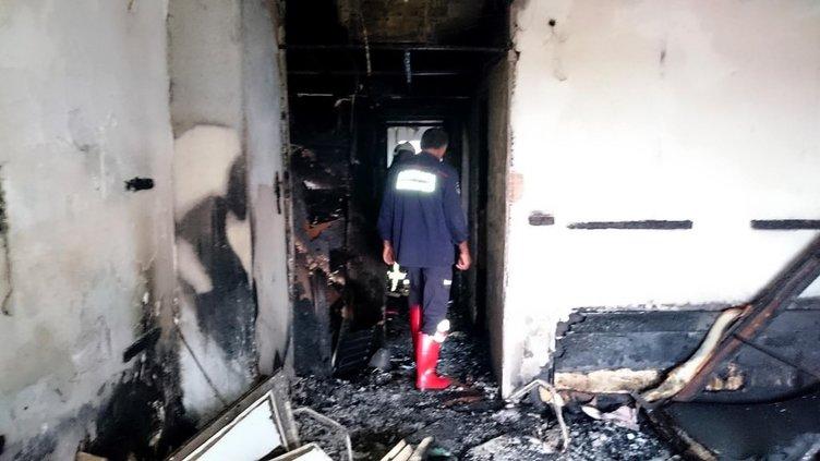 5 yıldızlı otelde yangın: 1 ölü!