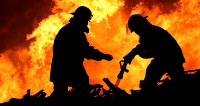 Çekmeköy'de yangın!