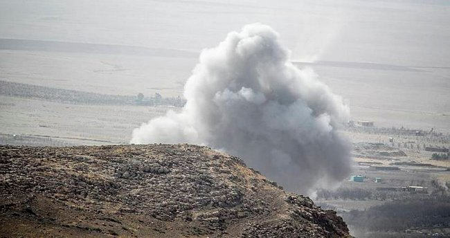 Koalisyon uçakları, DEAŞ'ın bombalı aracını vurdu