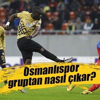 Osmanlıspor gruptan nasıl çıkar?