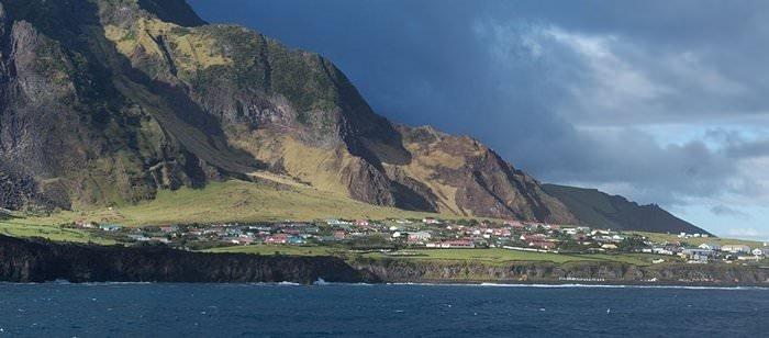 Dünyanın en ücra yeri olan Tristan da Cunha adası