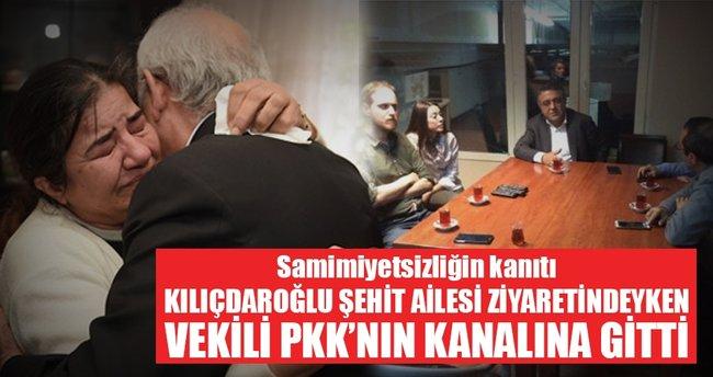 CHP'li vekil PKK'nın kanalına ziyarete gitti