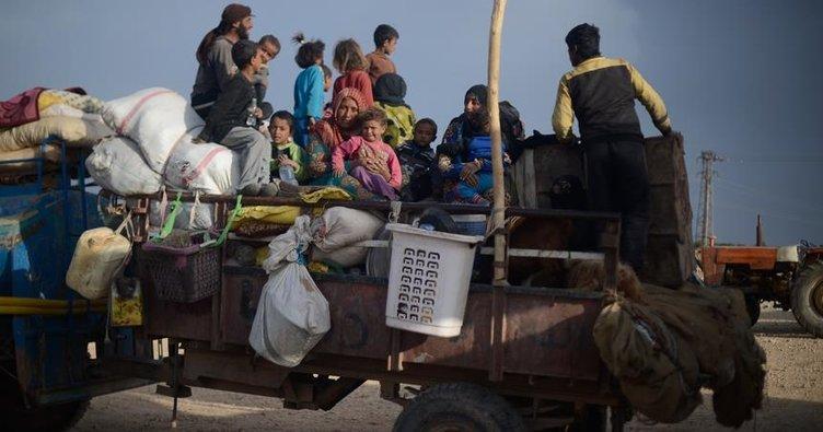 Terör örgütü PKK/PYD Rakka'da 120 bin sivili yerinden etti
