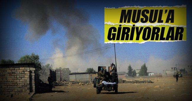 Irak ordusu Musul'a dayandı