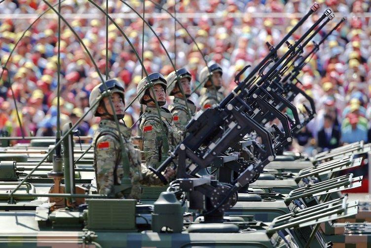 Çin'den Dünyaya gözdağı