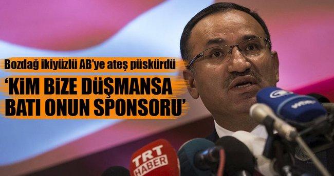 'Kim bize düşmansa Batı onun sponsoru'
