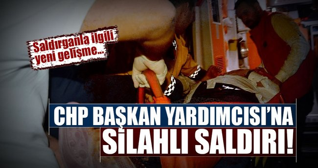 CHP'li  Bülent Tezcan'a silahlı saldırı