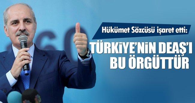 Kurtulmuş: FETÖ Türkiye'nin DEAŞ'ıdır
