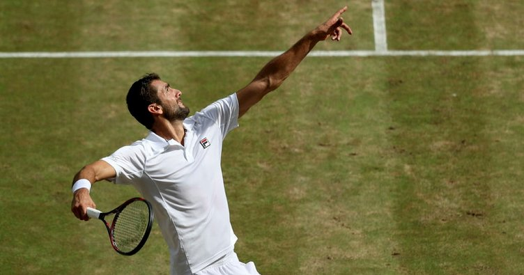 Marin Cilic, Wimbledon'da finalde