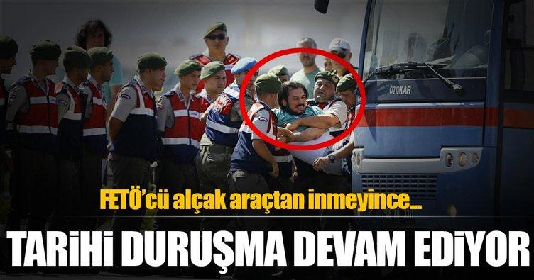 Cumhurbaşkanı Erdoğan'a suikast girişimi davası devam ediyor