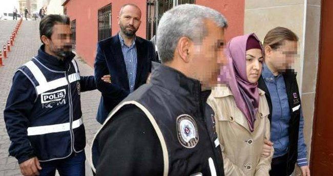 Kayseri'de aileye FETÖ'den gözaltı