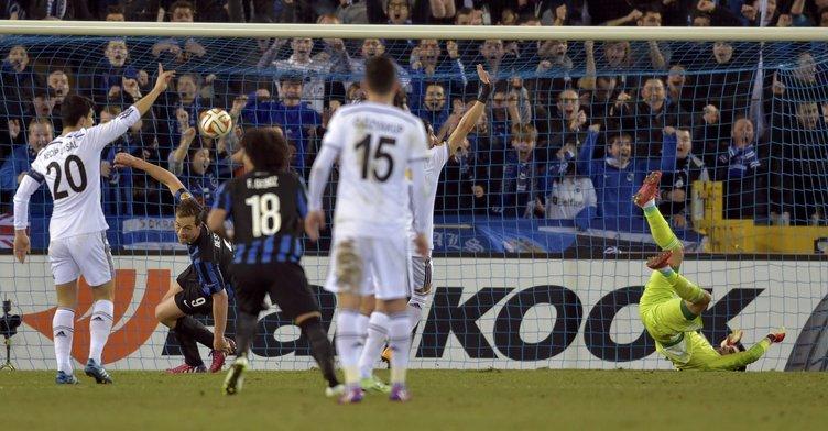 Club Brugge - Beşiktaş maçının fotoğrafları