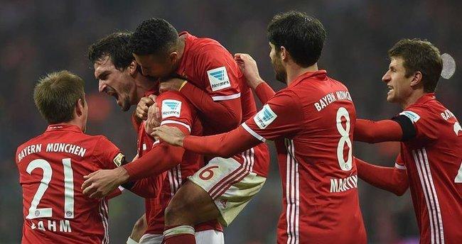 Bayern Münih kendine geldi