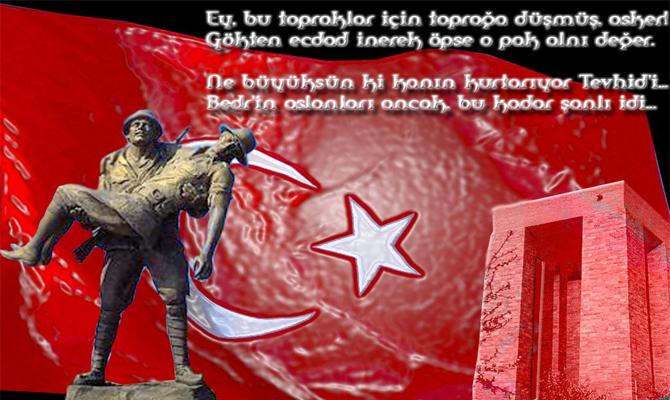 En güzel Çanakkale Zaferi mesajları! - 18 Mart Çanakkale Zaferi resimli mesajları ve şiirleri!