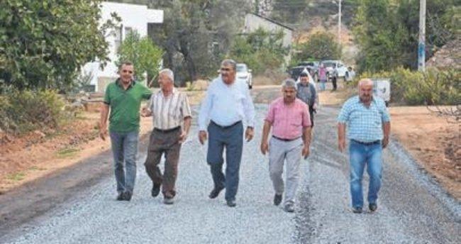 Alanya'da asfaltsız köy yolu kalmıyor
