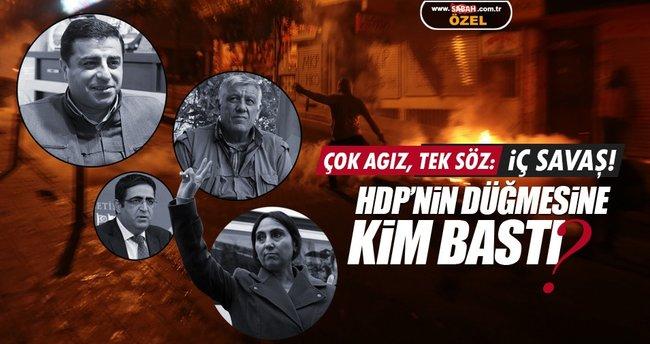 HDP'de tüm ağızlardan aynı söz dökülüyor: İç Savaş!