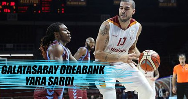 Galatasaray Odeabank evinde güldü