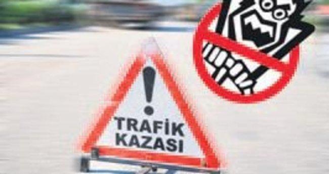 Balıkesir'de trafik kazası
