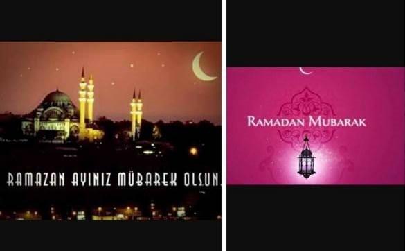 Ünlülerden Ramazan yorumları