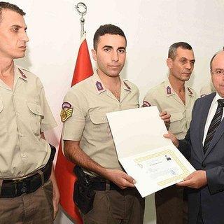 Suikast timinin yakalanmasında görev yapan personele ödül