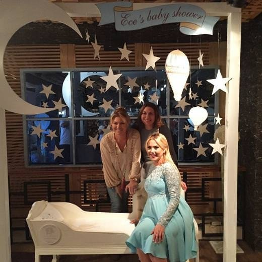 Ece Erken'in Baby Shower partisi