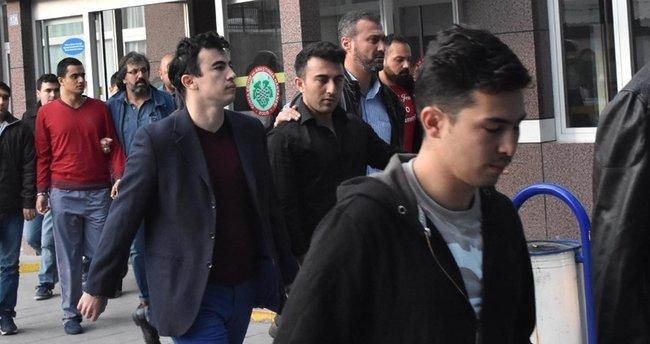Gözaltına alınan 16 pilot serbest bırakıldı