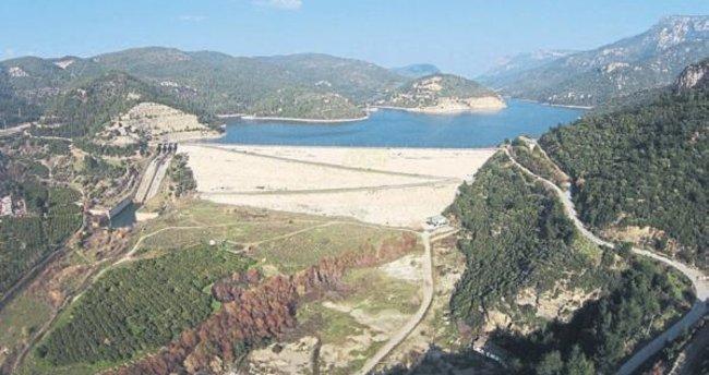 Barajlarda su seviyesi azaldı