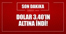 Dolar çakıldı!