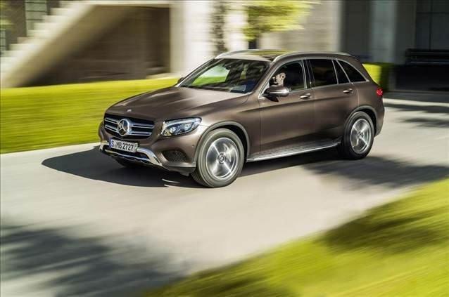 Mercedes-Benz GLC gün yüzüne çıktı