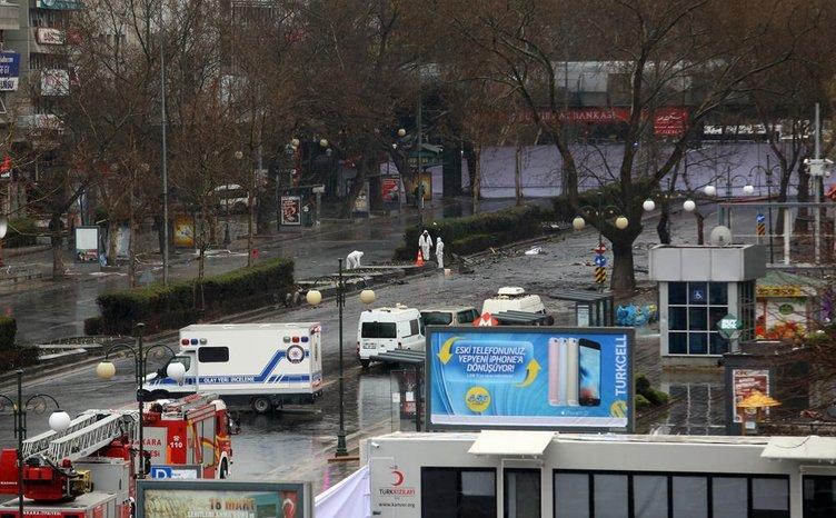 Ankara'daki büyük tahribat güneş doğunca ortaya çıktı!