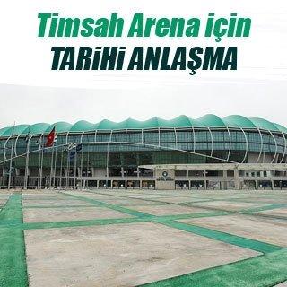 Timsah Arena için 35 milyon dolar
