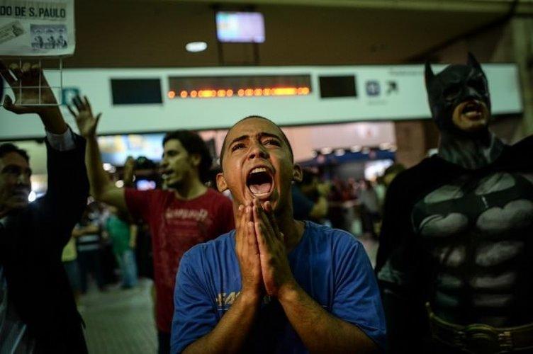 Brezilya'da Dünya Kupası protestosu