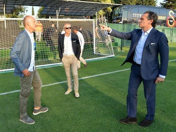 Galatasaray'ın hocası Prandelli İstanbul'a geldi