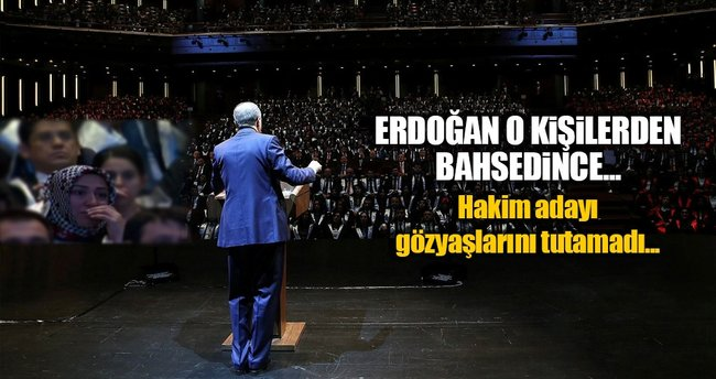 Cumhurbaşkanı Erdoğan'ın sözleri ağlattı